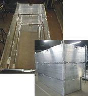 Aluminium grafbekisting